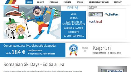 Evenimentul Romanian ski days - Skipass