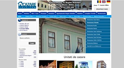 web design and development - Cazare Sibiu