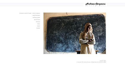web design - Andreea Campeanu